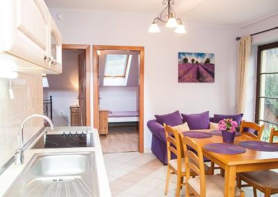 Apartament Romantyczny  (od 4 do 6 osób)